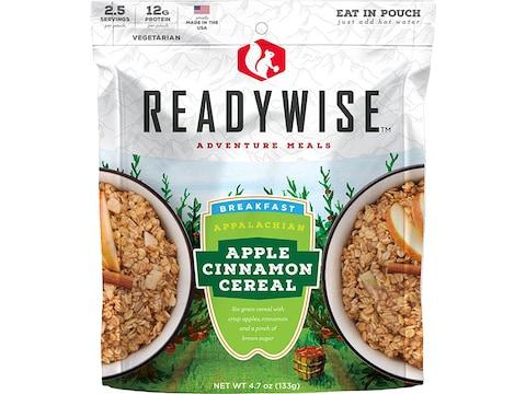 ReadyWise Appalachian Apple Cinnamon Cereal Freeze Dried Food