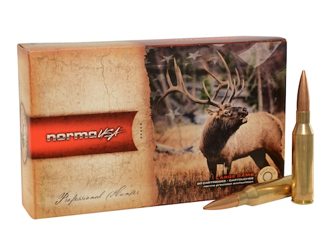 Norma American PH Ammunition 338 Norma Magnum 300 Grain Sierra MatchKing Hollow Point B...