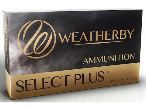 Weatherby Select Plus Ammunition 340 Weatherby Magnum 225 Grain Barnes TTSX Polymer Tip...