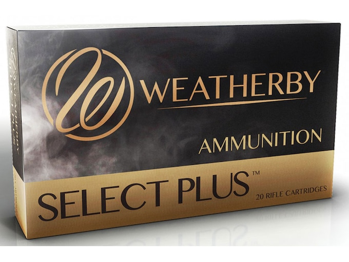 Weatherby Select Plus Ammunition 7mm Weatherby Magnum 160 Grain Nosler Partition Box of 20
