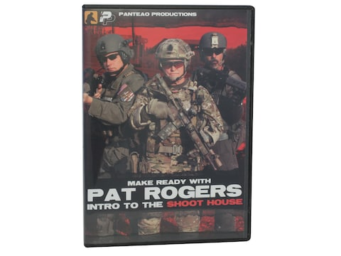 """Panteao """"Make Ready with Pat Rogers:  Intro to the Shoot House"""" DVD"""