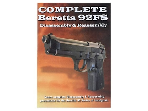 """Gun Video """"Complete Disassembly & Reassembly: Beretta 92FS"""" DVD"""