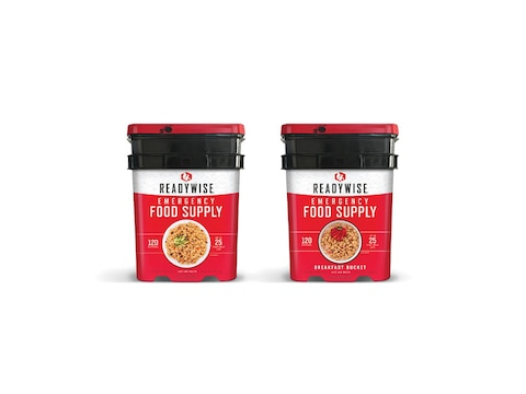 ReadyWise 240 Serving Vegetarian Entree and Breakfast Freeze Dried Food Kit