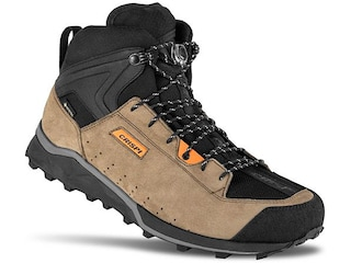 Crispi Attiva Mid GTX Hiking Boots Suede/Synthetic Brown/Orange Men's 8 D