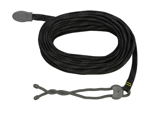 Hawk Twist Tie Treestand Utility Rope Nylon Black