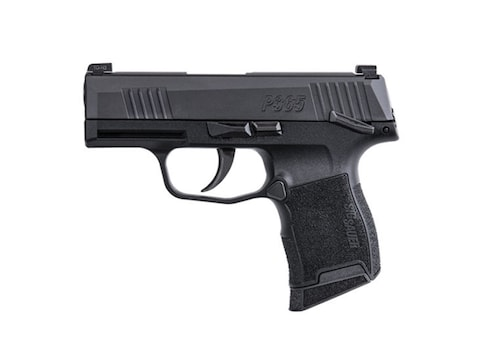 "Sig Sauer P365 Pistol 9mm Luger 3.1"" Barrel with Manual Safety 10 Round Polymer Black"