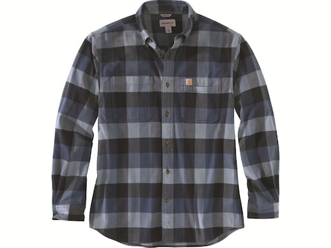 Carhartt Men's Rugged Flex Relaxed Fit Flannel Long Sleeve Shirt