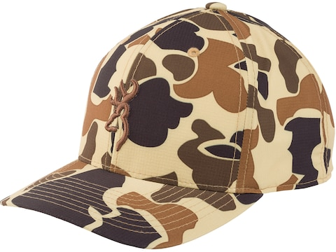 Browning Men's Cupped Up Cap Vintage Tan One Size Fits Most