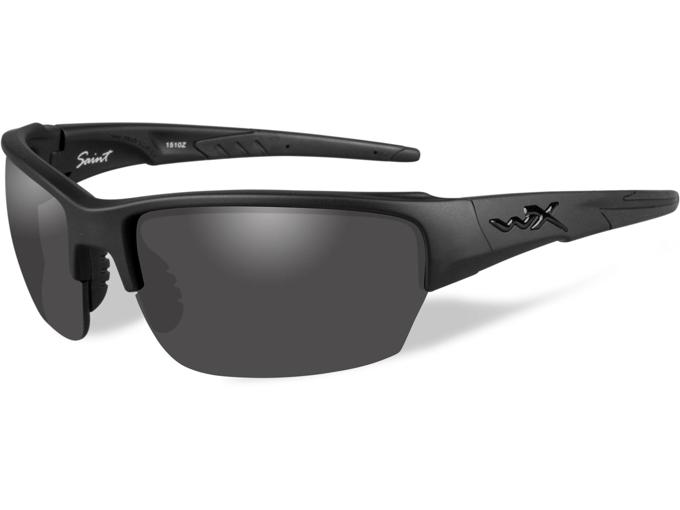 cd3654813d57 Wiley X Black Ops WX Saint Sunglasses Matte Black Frame Smoke Gray