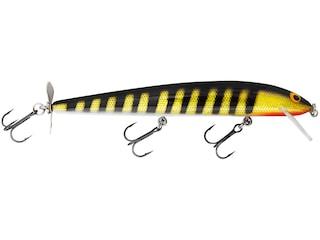 Bagley Bang O Lure Spin Tail 5 Jerkbait Black Stripes on Gold Foil