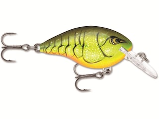Rapala DT (Dives-To) 4 Crankbait Chart Rootbeer Craw