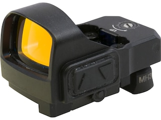 Meprolight Micro RDS Reflex Red Dot Sight 3 MOA Dot Kit Quick Release Mount Tritium Front Sight & Rear Sight S&W M&P Matte