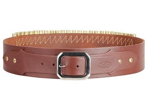 Hunter Adjustable Cartridge Belt Caliber Leather