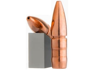 Lehigh Defense Controlled Chaos Bullets 22 Caliber (224 Diameter) 62 Grain Fracturing Copper Hollow Point Boat Tail Lead-Free Box of 100