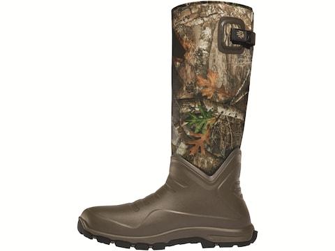 "LaCrosse Aerohead Sport 16"" Waterproof 7mm Hunting Boots Polyurethane Clad Neoprene Men's"