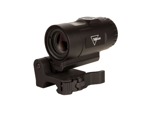 Trijicon 3x Magnifier Adjustable Height with Switch to Side Quick Detachable Mount Matte