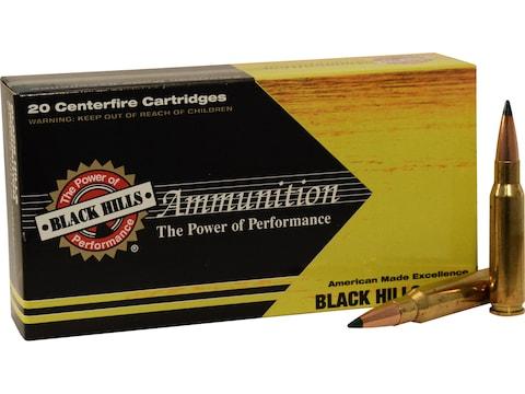 Black Hills Gold Ammunition 308 Winchester 155 Grain Sierra Tipped MatchKing (TMK) Box ...