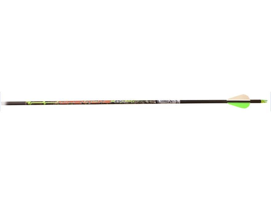 Carbon Express Adrenaline Hot Pursuit Fletched Carbon Arrows with NRG Vanes 90