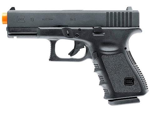 Glock 19 Gen 3 Green Gas Airsoft Pistol