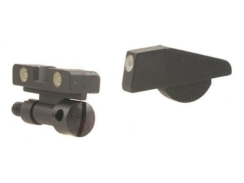 Meprolight Tru-Dot Adjustable Sight Set S&W K, L, N Frame with Pinned Front Sight Steel...