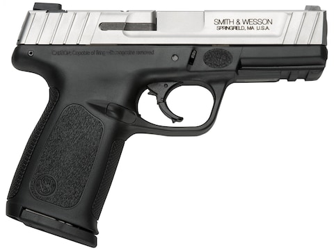 "Smith & Wesson SD40VE Pistol 40 S&W 4"" Barrel Stainless, Black"