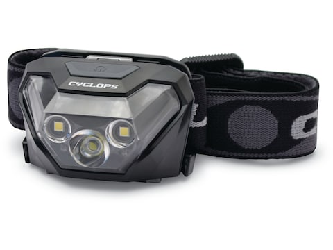 Cyclops HL500 Headlamp LED with 3 AAA Batteries Polymer Black
