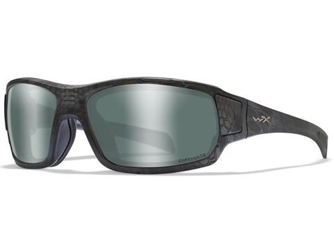 Wiley X Breach Polarized Sunglasses Kryptek Typhon Frame/Platinum Flash Captivate Lens