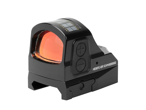 Holosun HE507C-GR-V2 Elite Reflex Sight 1x Selectable Green Reticle Picatinny-Style Mou...