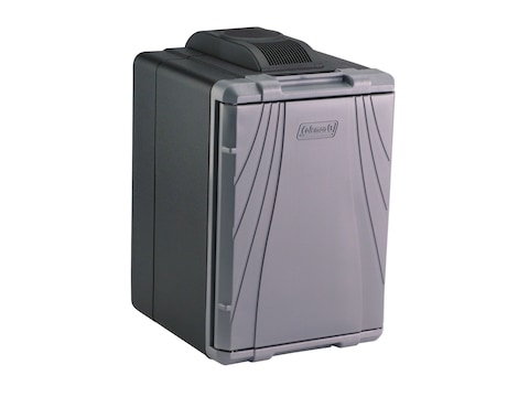 Coleman 40 Qt Powerchill Hot/Cold Thermoelectric Cooler 12 Volt Black and Gray