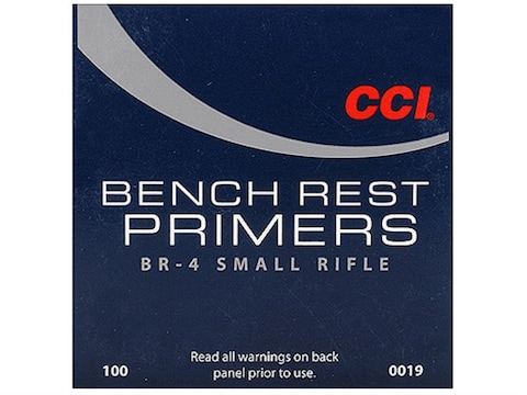 CCI Small Rifle Bench Rest Primers #BR4 Box of 1000 - Blemished