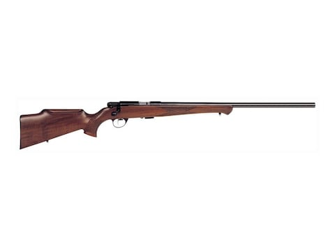 "Anschutz 1712 Silhouette 2-Stg Rifle 22 Long Rifle 21.6"" Barrel Blue, Monte Carlo Walnu..."