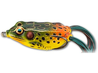 LIVETARGET Hollow Body Frog 1.75 Topwater Emerald/Red
