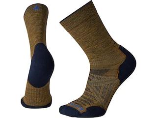 Smartwool Men's PhD Outdoor Light Crew Socks Desert Sand XL 1 Pair (12-14.5)
