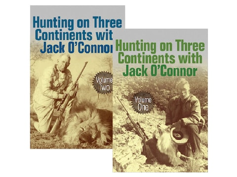 Hunting on Three Continents with Jack O'Connor: 2 Volume Set by Jack O'Connor