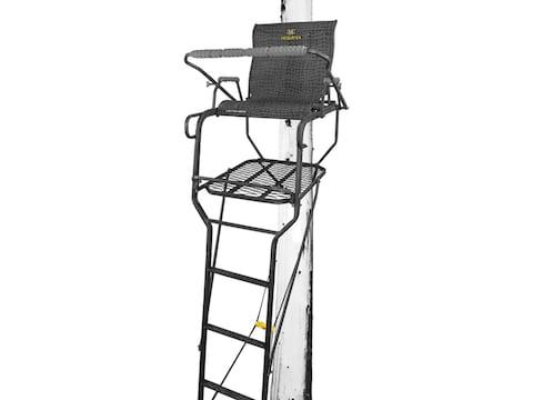 Hawk Sasquatch 21' 1.5 Man Ladder Treestand Steel Black