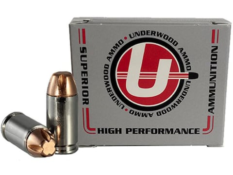 Underwood Ammunition 9x18mm (9mm Makarov) 95 Grain Lehigh Xtreme Penetrator Lead-Free B...