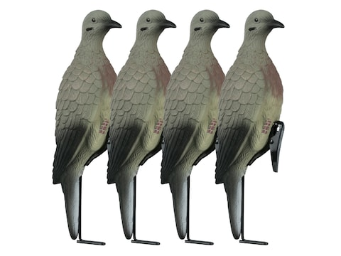 Lucky Duck Dove Decoy With Clips Pack of 4