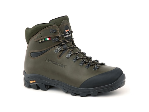 "Zamberlan 1007 Vioz Hunt GTX RR 5"" Hunting Boots Gore-Tex Full Grain Waxed Leather"