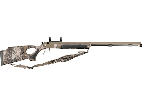"""CVA Accura V2/LR Muzzleloading Rifle with Dead-On Scope Mount 45 Caliber 30"""" Fluted Cer..."""