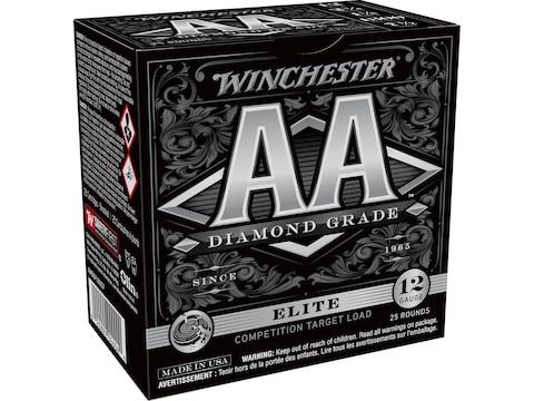 """Winchester AA Diamond Grade 1300 Ammunition 12 Gauge 2-3/4"""" 1-1/8 oz #7-1/2 Shot"""