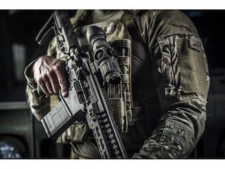 Trijicon IR Patrol M300W Thermal Monocular 1x 19mm 640x480 Rifle-Mounted Kit with Wilcox Shoe Interface and Flip Mount Black