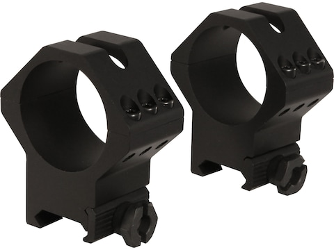 Weaver Tactical 6-Hole Picatinny Rings Matte