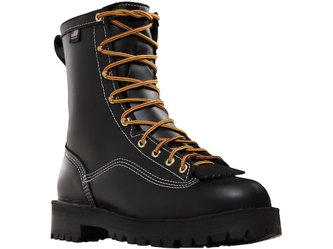 """Danner Super Rain Forest 8"""" Waterproof GORE-TEX Insulated Work Boots Full-Grain Leather..."""