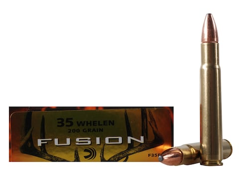 Federal Factory Second Fusion Ammunition 35 Whelen 200 Grain Bonded Spitzer Box of 20