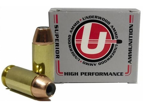 Underwood Ammunition 40 S&W 180 Grain Jacketed Hollow Point Box of 20