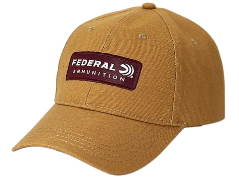 Federal Premium Logo Cap Canvas Coyote Brown