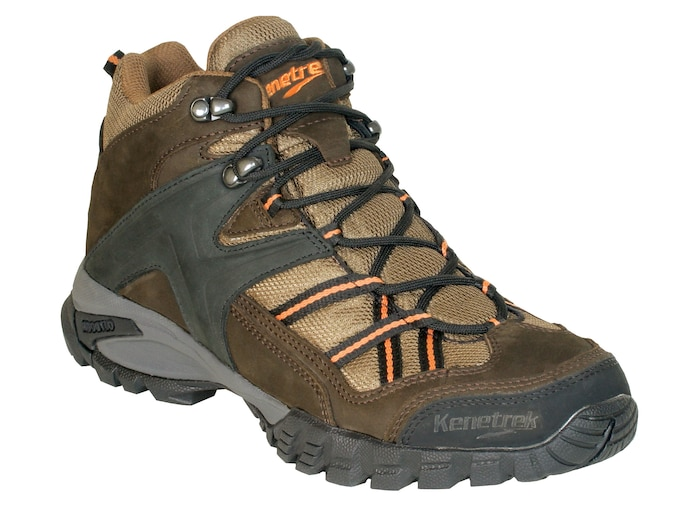 "Kenetrek Bridger Ridge High 6"" Hiking Boots Leather and Nylon Coffee Men's"