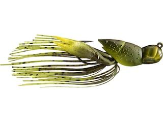 LIVETARGET Crawfish Jig Green/Chartreuse 1/2 oz