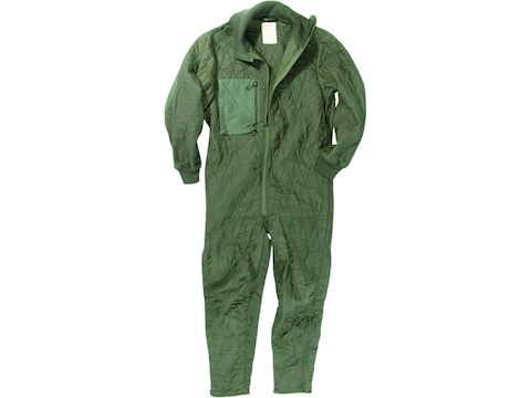 Military Surplus German Tanker Quilted Coverall Liner