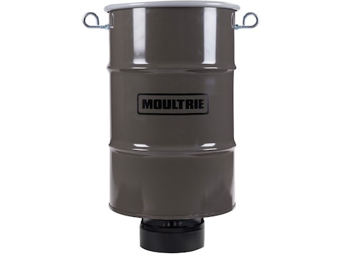 Moultrie Pro Magnum Hanging Game Feeder 30 Gallon Metal Brown